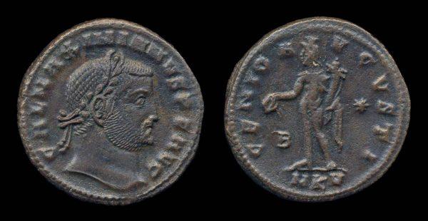 ROMAN EMPIRE, Galerius, 305-311 AD, follis, Cyzicus mint