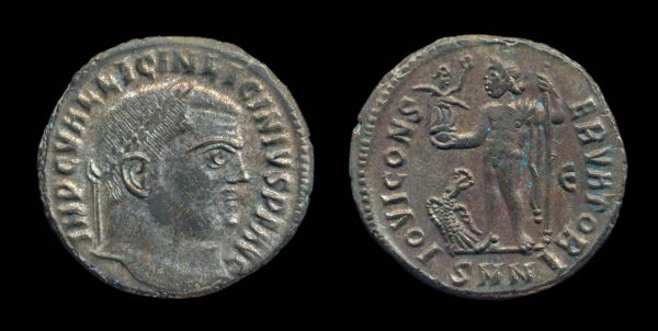ROMAN EMPIRE, Licinius I, 308-324 AD, follis, Nicomedia mint