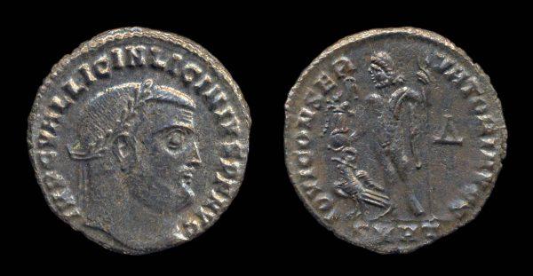 ROMAN EMPIRE, Licinius I, 308-324 AD, follis, Heraclea mint