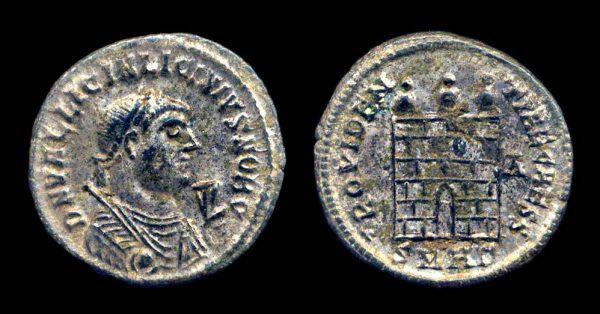 ROMAN EMPIRE, Licinius II, Caesar, 317-324 AD, follis, Heraclea mint