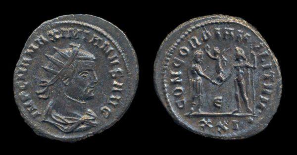ROMAN EMPIRE, Maximianus, 286-305 AD, antoninianius, Cyzicus mint