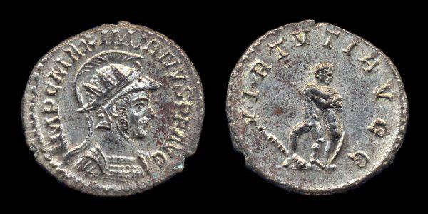 ROMAN EMPIRE, Maximianus, 286-305 AD, antoninianius, Lugdunum mint
