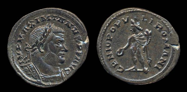 ROMAN EMPIRE, Maximianus, 286-305 AD, follis, London mint