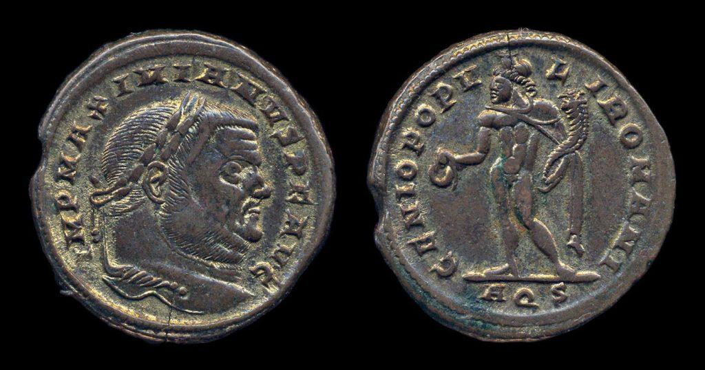 Maximianus Follis - GENIO POPVLI ROMANI - London Mint
