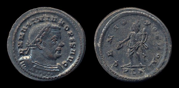 ROMAN EMPIRE, Maximianus, 2nd reign, 306-308 AD, follis, London mint