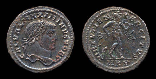 ROMAN EMPIRE, Maximinus II, Caesar, 305-308 AD, follis, Cyzicus mint