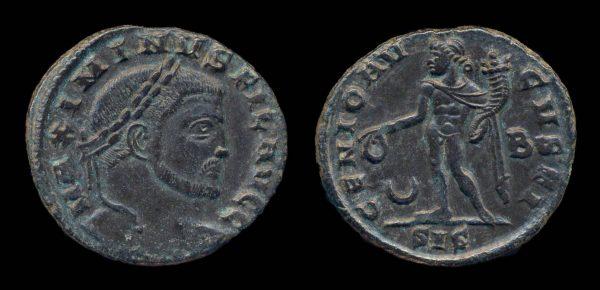 ROMAN EMPIRE, Maximinus II, Filus Augustorum, 309-310 AD, follis, Siscia mint