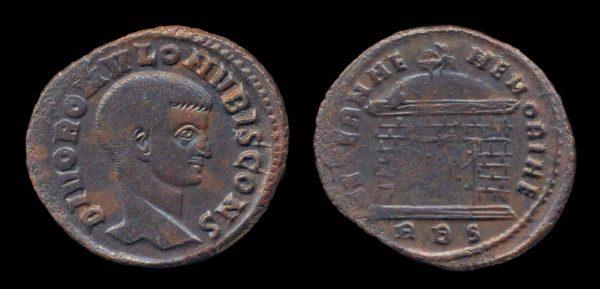 ROMAN EMPIRE, Romulus, 309 AD, follis, Rome mint