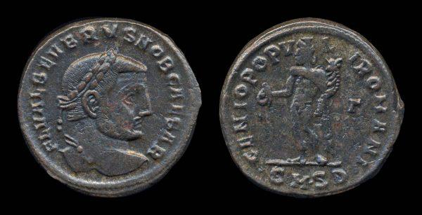 ROMAN EMPIRE, Severus II, Caesar, 306-307 AD, follis, Serdica mint