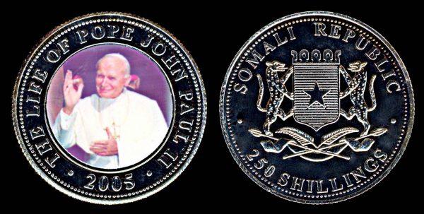 SOMALIA, 250 shillings, 2005