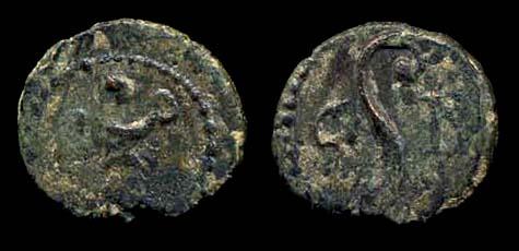 PHOENICIA, BERYTOS, 1st c. AD, bronze