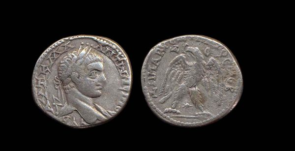 SYRIA, ANTIOCH, Elagabalus, 218-222 AD, tetradrachm