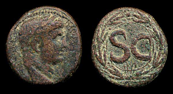 SYRIA, ANTIOCH, Augustus, 27 BC - 14 AD, bronze