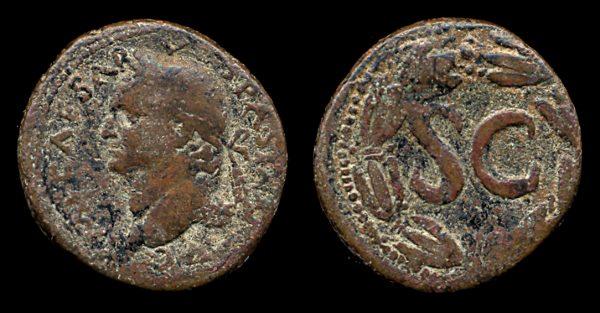 SYRIA, ANTIOCH, Vespasian, 69-79 AD, bronze