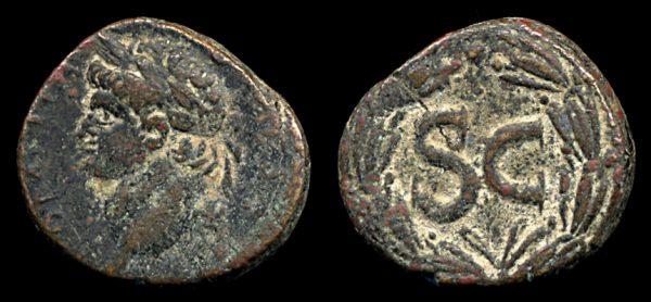 SYRIA, ANTIOCH, Domitian, 81-96 AD, bronze