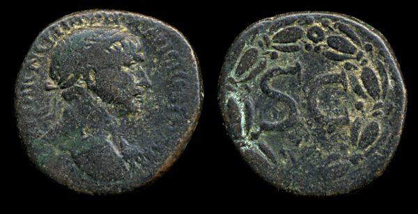 SYRIA, ANTIOCH, Trajan, 98-117 AD, bronze