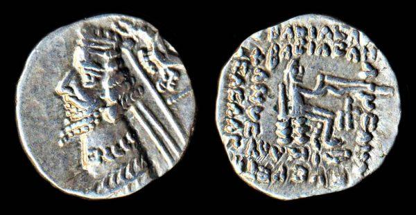 PARTHIA, Phraates IV, c 38-2 BC, drachm