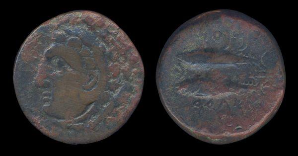 SPAIN, GADES, 2nd-1st c. BC, bronze