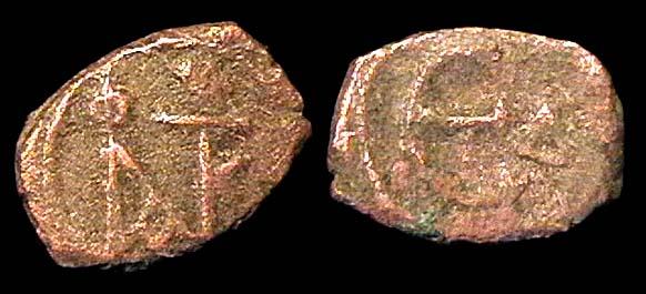 BYZANTINE, Justin II, 565-578 AD, pentanummium, Constantinople