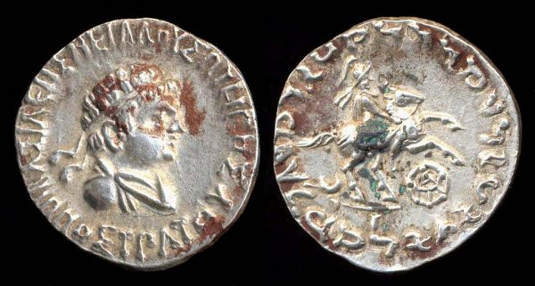 INDO-GREEK, Hippostratos, c. 80-69 BC, tetradrachm