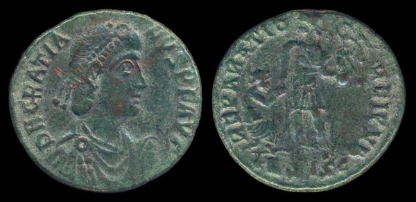 ROMAN EMPIRE, Gratian, 367-83 AD, maiorina, Siscia mint