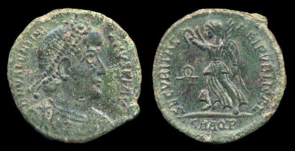 ROMAN EMPIRE, Valentinian I, 364-375 AD, centenionalis, Aquileia mint