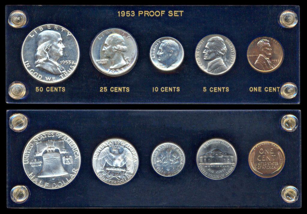 1953 Proof Set   United States Coins   Golden Rule Enterprises