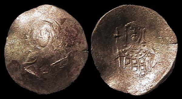 BYZANTINE, John II, 1118-1143 AD, aspron trachy