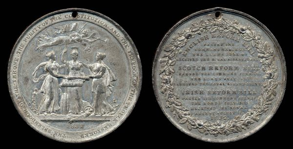 GREAT BRITAIN, medal for the National Reforms, 1832
