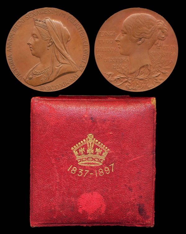 GREAT BRITAIN, Victoria Jubilee medal, 1897, bronze