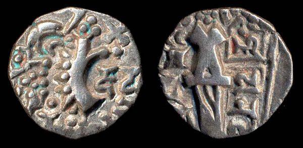 KIDARITE, Vinayaditya, late 5th c. AD, base gold stater
