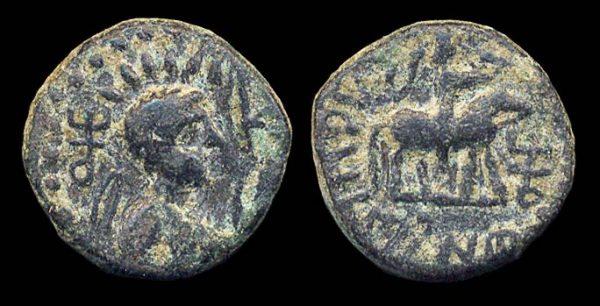 KUSHAN, Soter Megas, c. 55-105 AD, drachm
