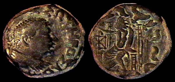 SCYTHIAN, Post-Hermaios imitation, tetradrachm