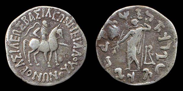 SCYTHIAN, Vonones & Spalahores, c. 75-65 BC, tetradrachm
