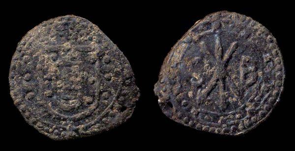 MALACCA, Sebastiao, 1557-78, tin bastardo