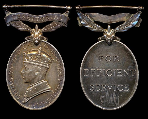 GREAT BRITAIN, George VI Efficiency Medal