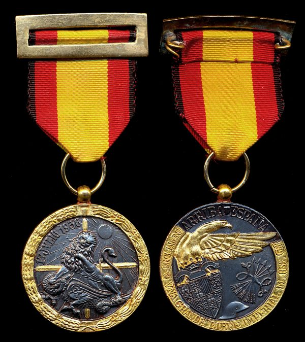 SPAIN, Spanish Civil War Medal, 1936