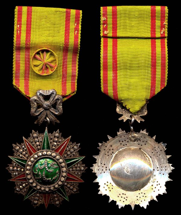 TUNISIA, Order of Nichan Iftikhar (Glory), 1902