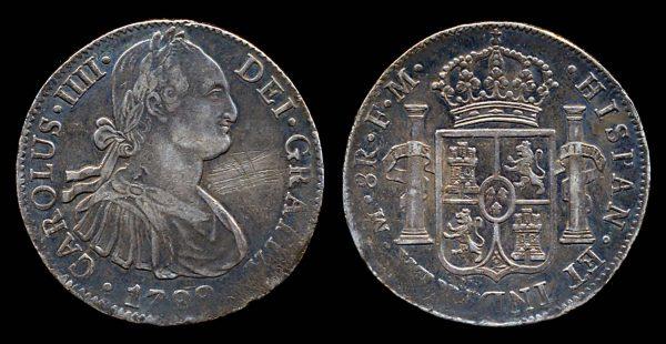 MEXICO, 8 reales, 1799 Mo-FM