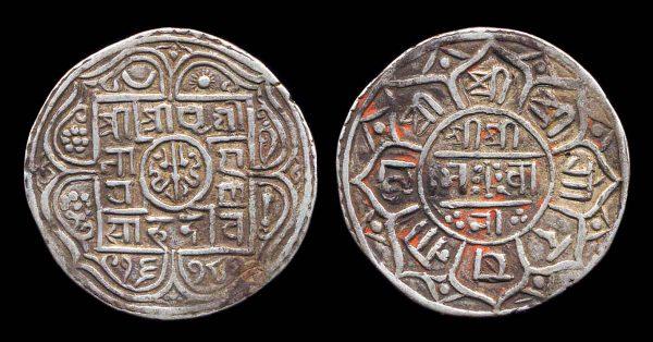NEPAL, mohar, 1678 SE (1756 AD)