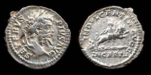 ROMAN EMPIRE, Septimius Severus, 193-211 AD, denarius