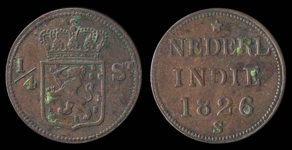 SINGAPORE, merchant token Imitating Netherlands Indies coin