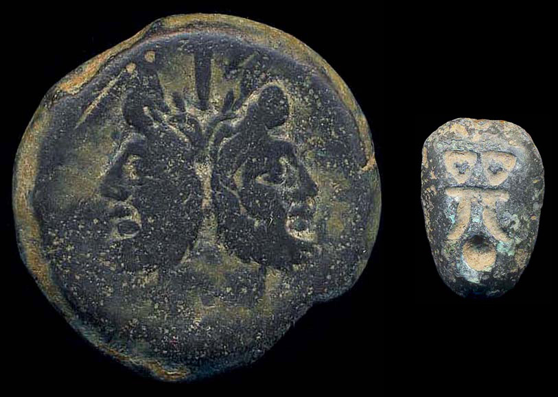 Early bronze coins