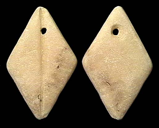 CHINA, ZHOU Dynasty, 1122-255 BC, alabaster imitation cowrie