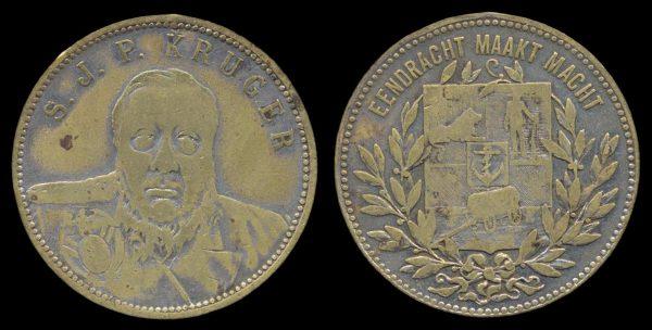 SOUTH AFRICA, Paul Kruger medal, 1890s