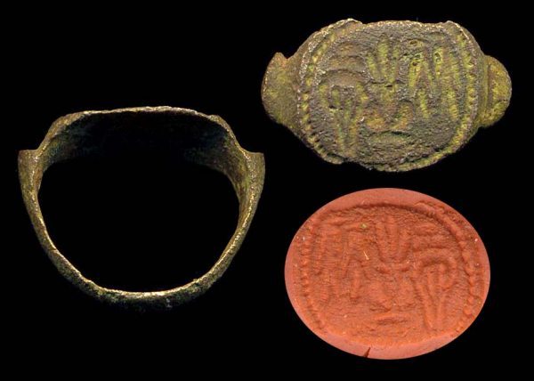 PAKISTAN, INDUS, c. 2000-1000 BC, bronze seal ring