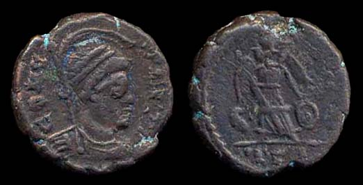ROMAN EMPIRE, GAUL, Barbarous, bronze nummus