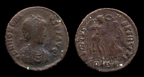 ROMAN EMPIRE, Honorius, 393-423 AD, bronze centenionalis