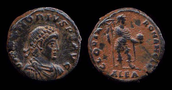 ROMAN EMPIRE, Honorius, 393-423 AD, bronze maiorina