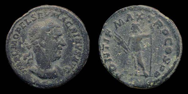 ROMAN EMPIRE, Macrinus, 217-218 AD, billon, denarius